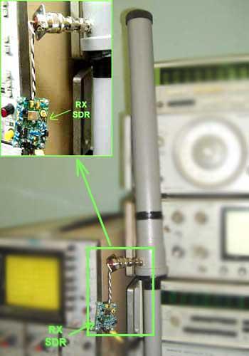 А теперь подключим этот SDR приемник к компьютеру и подадим питание.